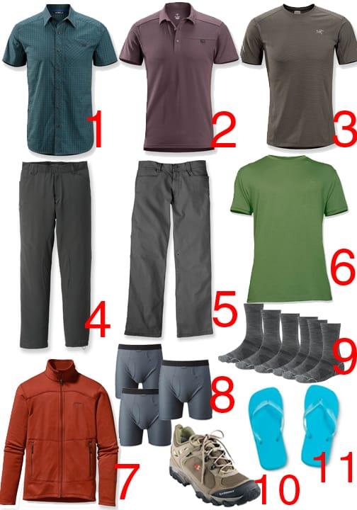 tips for ultralight backpacking in Europe