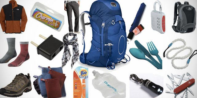 Backpacking Europe Packing List Travel Europe Packing Guide