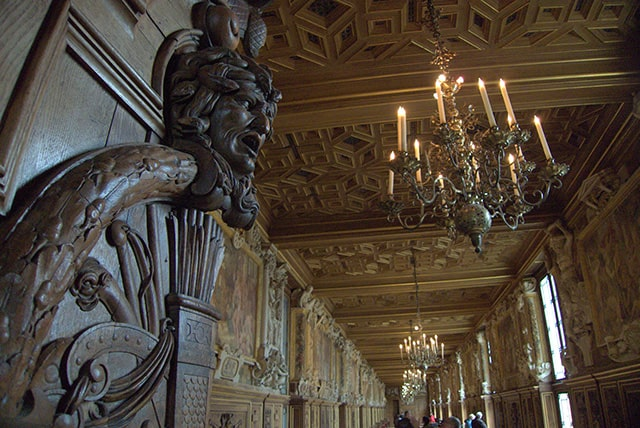 Every inch of the chateau is opulent.