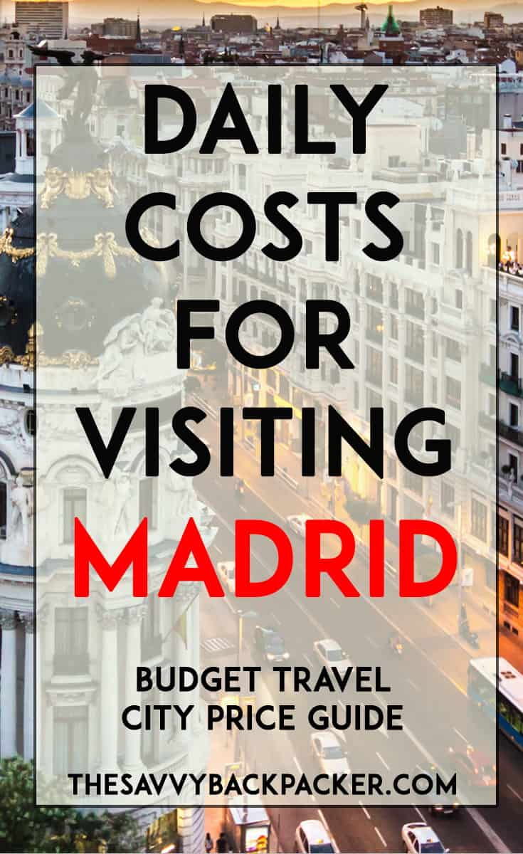 madrid-price-guide