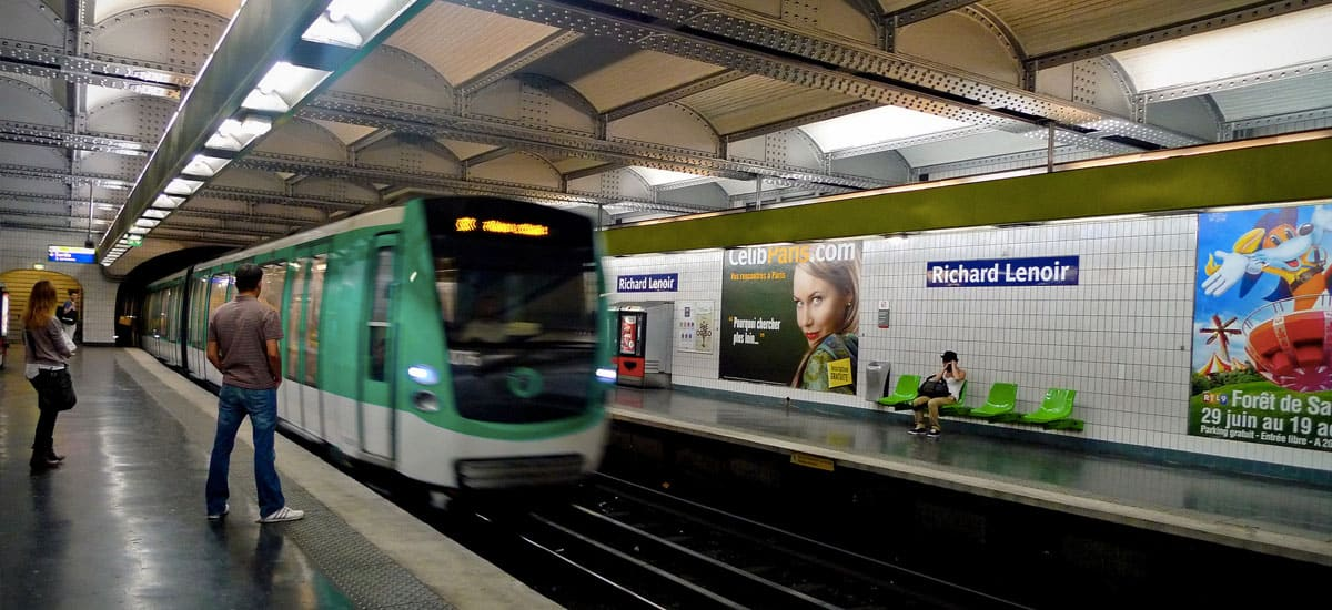 How To Use The Paris Metro - Guide To Backpacking Through Europe ...