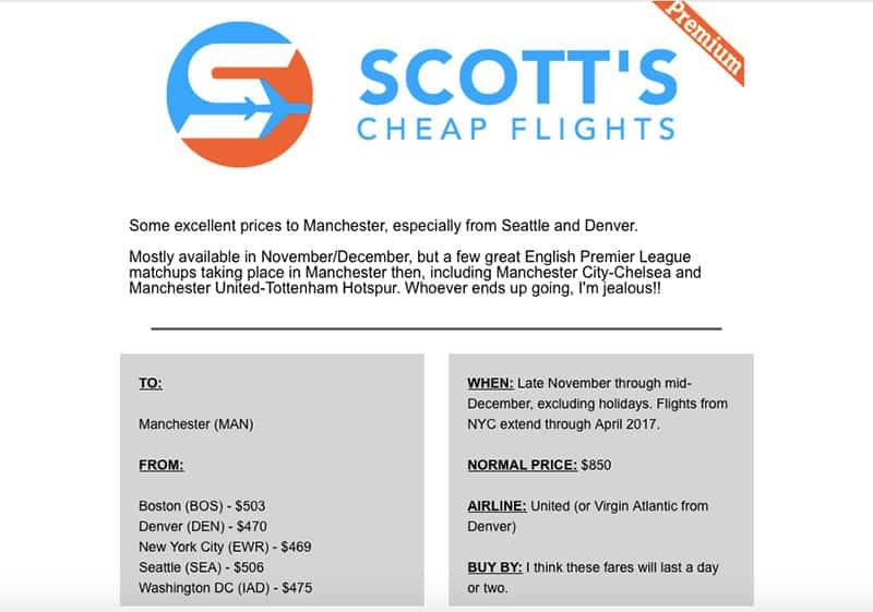 Scott's Cheap Flights Review