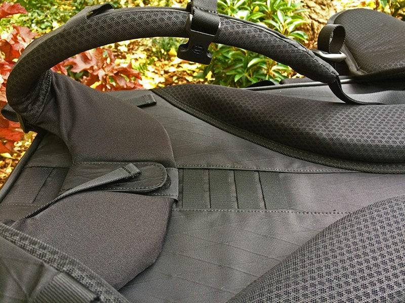 The shoulder straps fit your shoulders