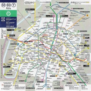 Paris Metro Map Download.How To Use The Paris Metro Subway Guide To Backpacking Through