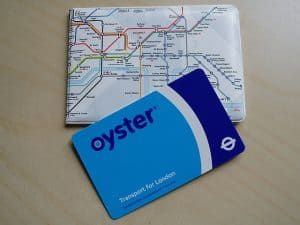 oyster card for london