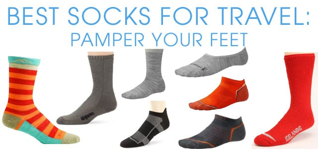 e5dfd94b763a1 Most people groan when they receive a pair of socks as a gift, but seasoned  travelers jump for joy. That's because high-quality socks are essential  when ...
