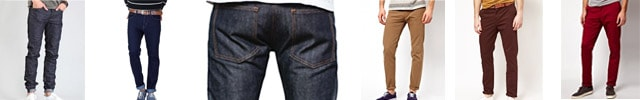 jeans and pants for Europe