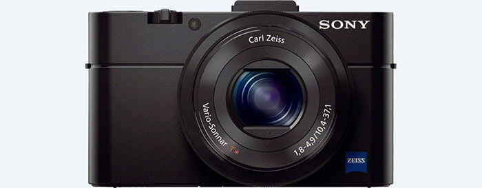 Best Travel Camera - Sony RX100
