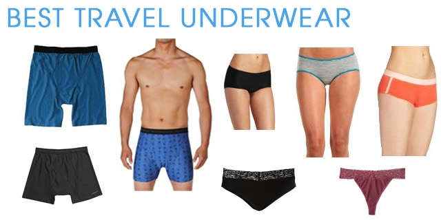 Best Travel Underwear - Top Rated Men's and Women's Travel Underwear