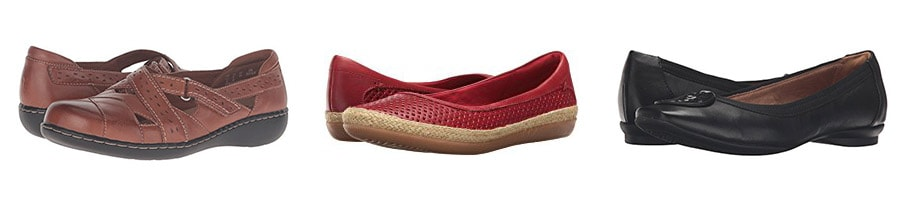 best travel shoes clarks flats