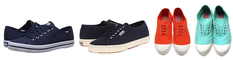 best travel shoes - casual sneakers