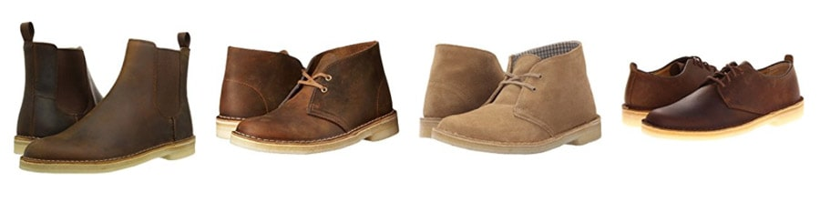 best travel shoes - clarks boots