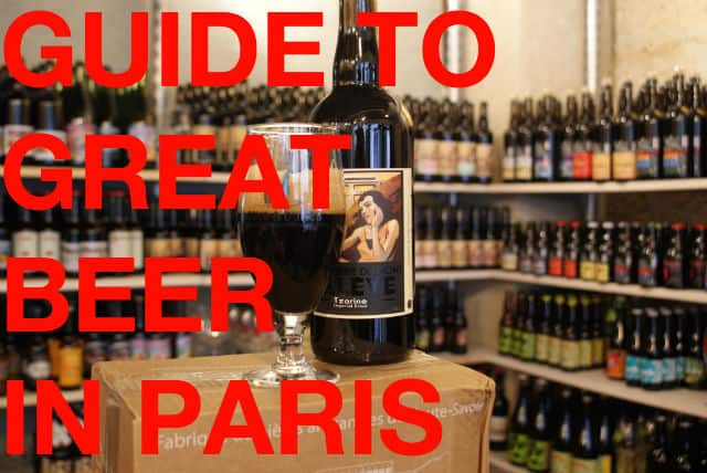 Guide to great beer in paris find the best craft beer in for Where to buy craft beer