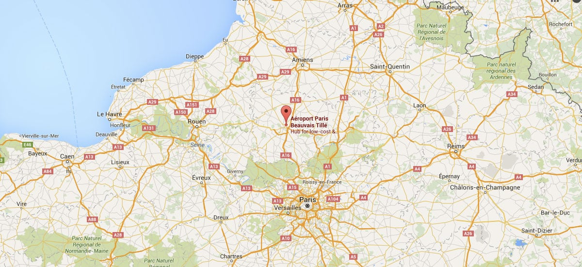 Beauvais airport bva to paris guide to backpacking - Paris porte maillot beauvais airport ...