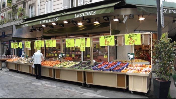 best market streets Pairs