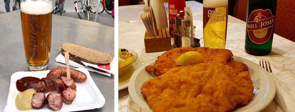 Vienna Travel Costs   Food Prices
