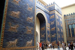 The Ishtar Gate at the Pergamon Museum