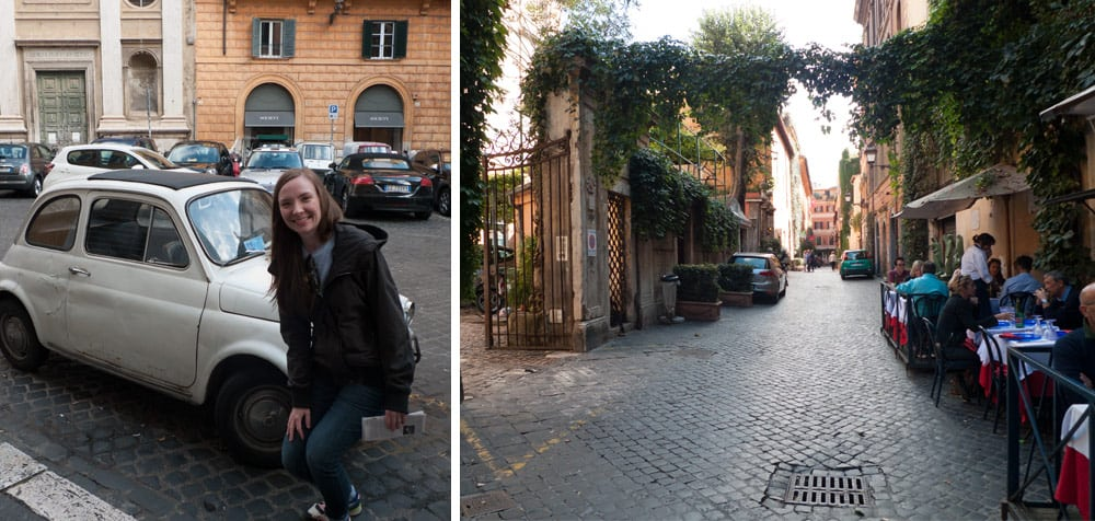 Susan and James in Rome
