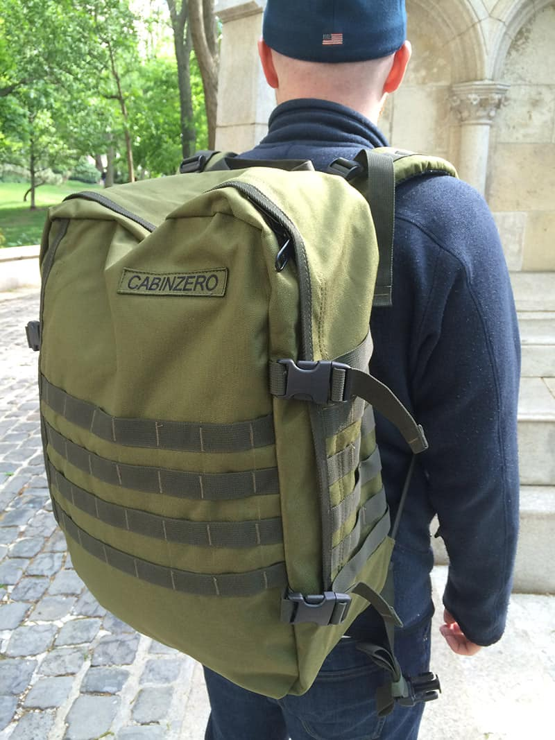 cabinzero-backpack-military-44l-review