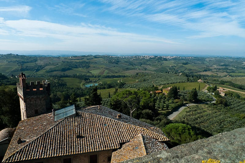This is why you want to explore the Tuscan countryside.