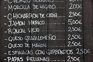 madrid-menu