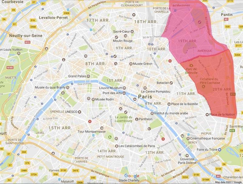 Where To Stay In Paris Neighborhood Guide Guide To Backpacking - Paris map neighborhoods