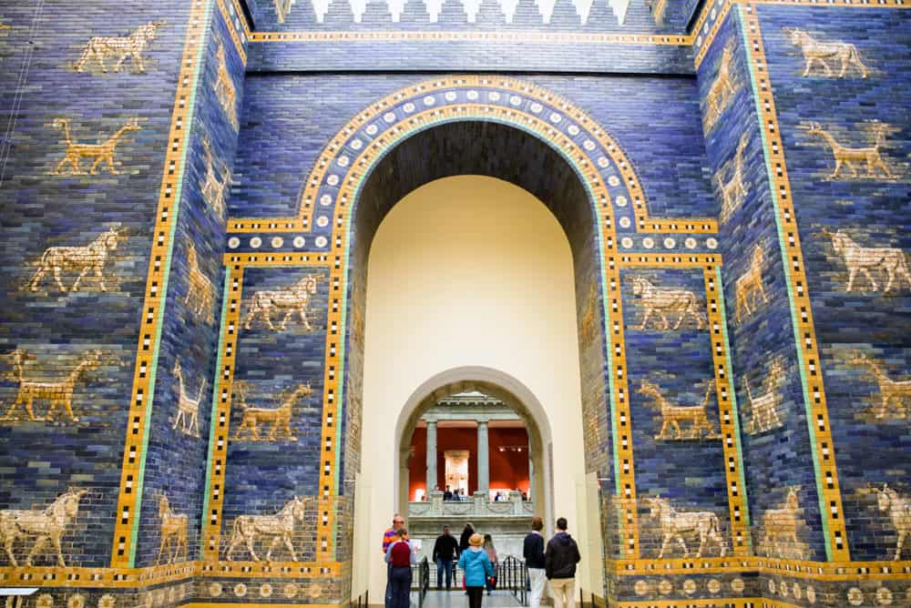 Ishtar gate from Babylon in Pergamon museum
