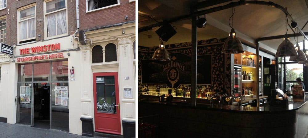 Best Hostel Amsterdam - St Christopher's at Winston Hotel