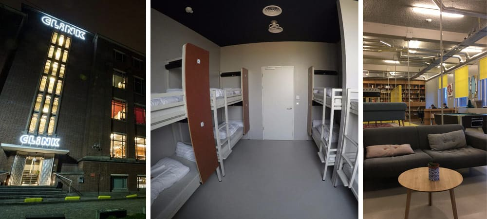 Best hostels Amsterdam - Clinknord