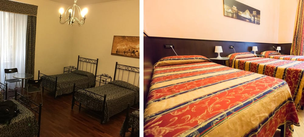 best hostels rome - happy palace