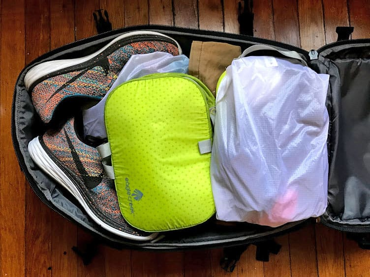 Aer Travel Pack Review - Packing Cubes