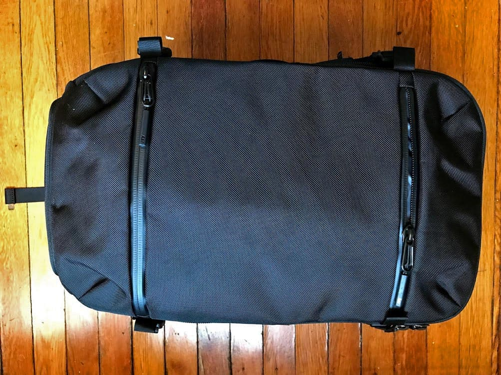 202bcb6afd Aer Travel Pack Backpack Review - Guide To Backpacking Through ...