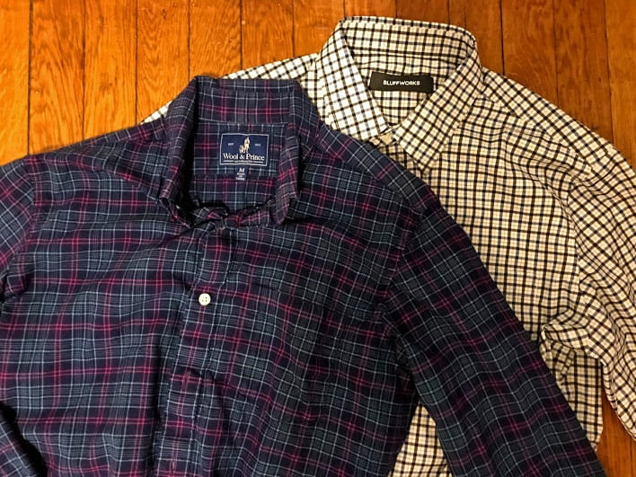 packing light - travel shirts