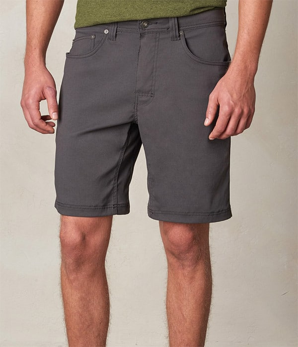 packing light - prana shorts