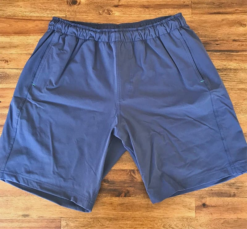 packing light - travel shorts