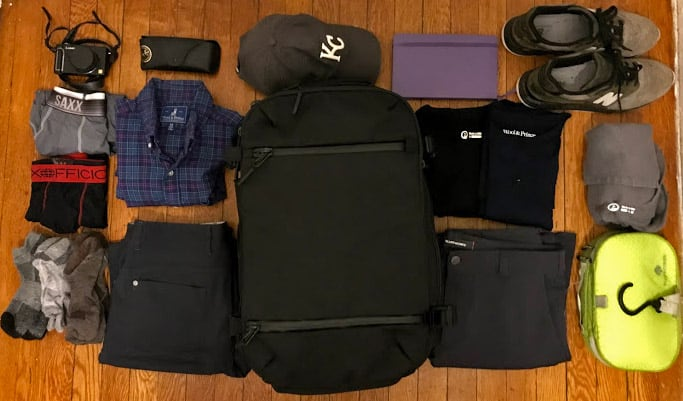 9e55e5f996 Ultralight Travel Packing List — Carry On Packing Guide - Guide To ...