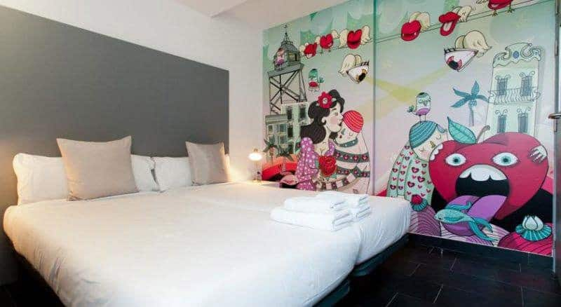 best Barcelona hostels - st. christophers