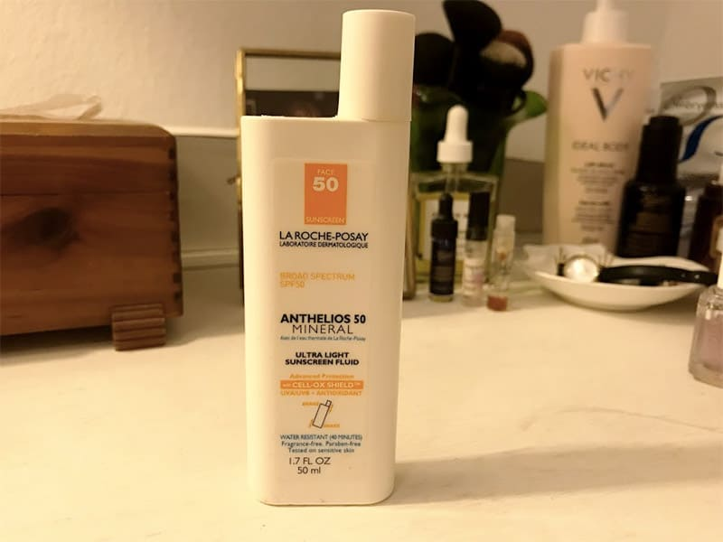 travel beauty - sunscreen
