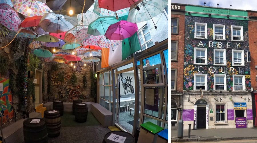 Best hostel in Dublin - Abbey Court Hostel