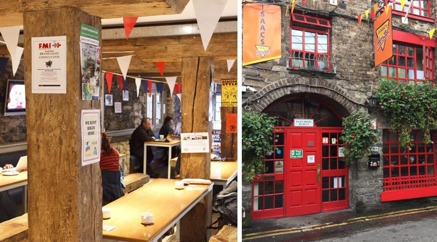 Best Dublin Hostels - Isaacs Hostel