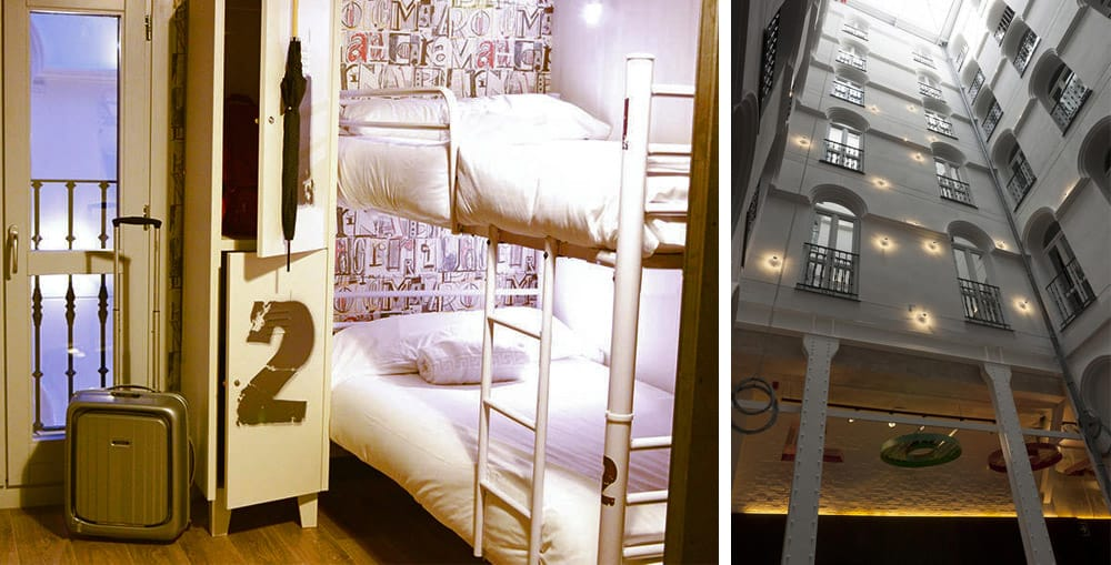 Best Madrid Hostels - Room007