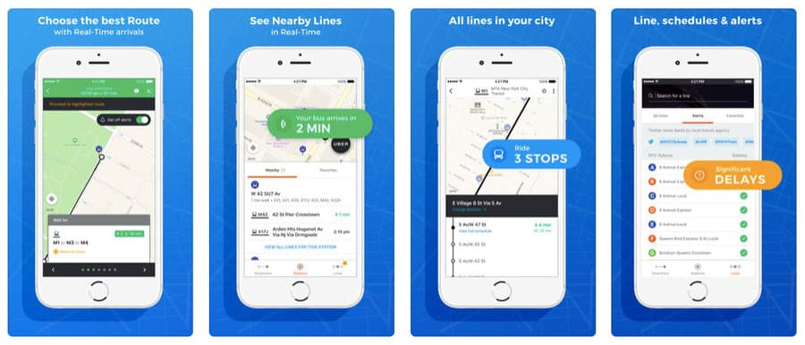 best travel apps - Moovit