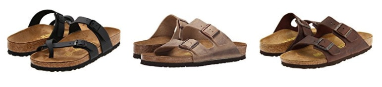 best travel shoes - birk sandals