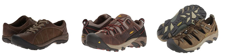 best travel shoes - Keen hiking shoes