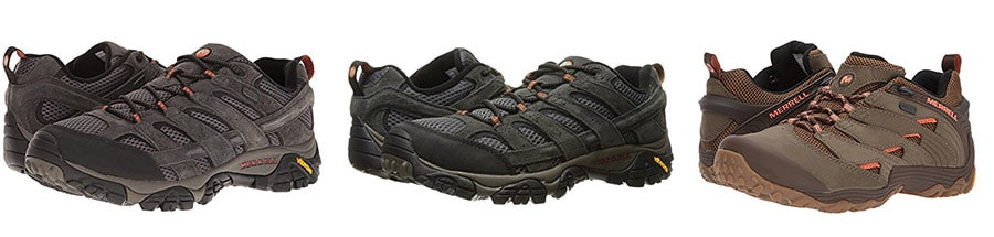 best travel shoes - Merrell hikers