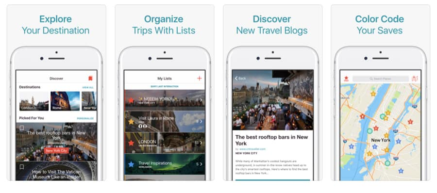Best travel apps - CityMaps2Go