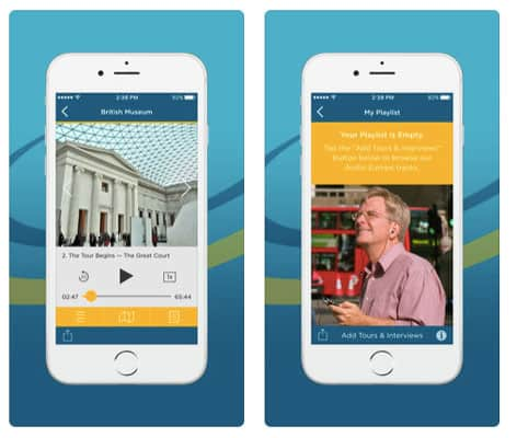 best travel apps - Rick Steves