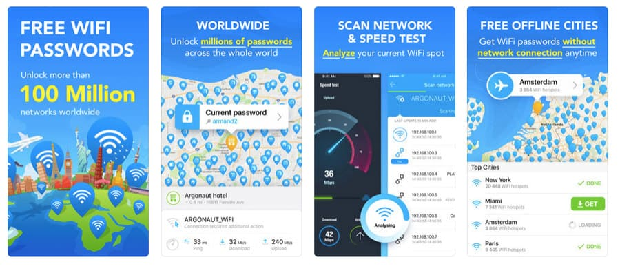 Best travel app - Wifi Maps