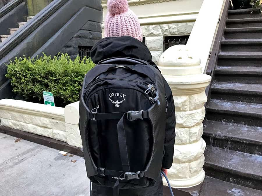 Osprey Porter backpack review - look