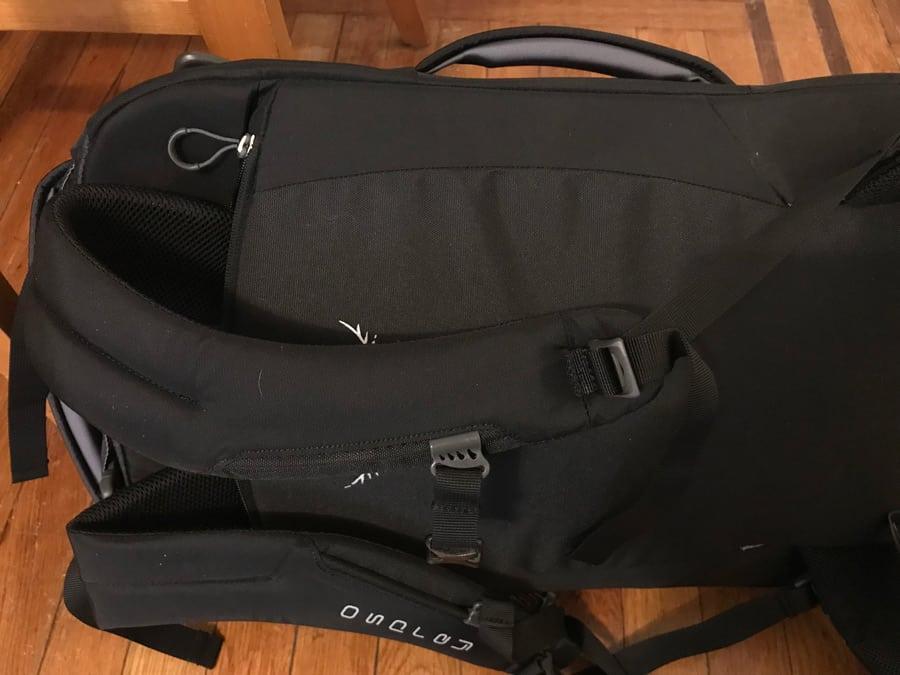 Osprey Porter review - handles